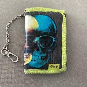 Gap boys trifold boys wallet with keys holder.